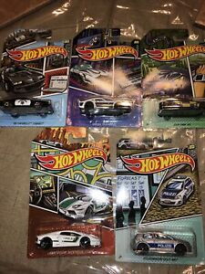 "2020 Hot Wheels ""HW Police Series"" - Complete Set 1-5, Mattel Canada"