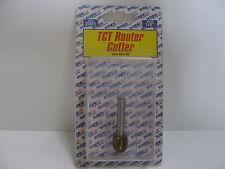 """TCT Router Cutter Bit. Core Box. 1/4"""". Double Flute"""