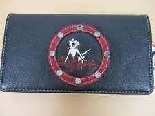 Betty Boop  - Women's Wallet/Checkbook Holder - New  - Very Detailed - Licensed