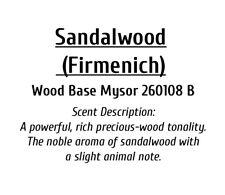 Sandalwood Mysore (Firmenich) 10ml - Perfume Grade