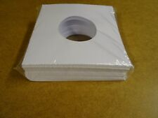 "100 PAPER SLEEVES FOR 7"" SINGLE RECORDS"