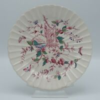 AESTHETIC ANTIQUE STAFFORDSHIRE  LONDON PATTERN  PLATE