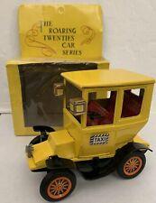 Vintage Bandai Japan 1908 Yellow Cab Friction Car in Box