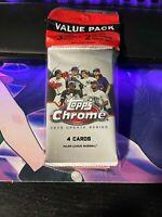 2020 Topps Chrome MLB Update Series Baseball Value Fat Pack Factory Sealed MLB