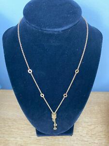 Bulgari B Zero1 drop Necklace in 18 carat yellow gold
