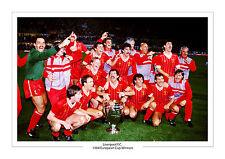 Liverpool Ganadores Copa Europea 1984 A4 Foto Foto impresión