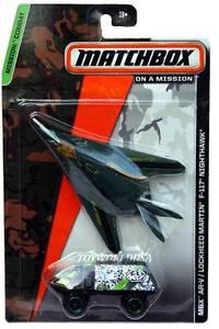 2014 Matchbox Mission Combat MBX AR-V & Lockheed Martin F-117 Nighthawk