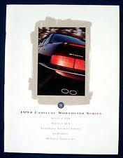 PROSPEKT BROCHURE 1994 Cadillac Seville * ELDORADO * Deville (USA)