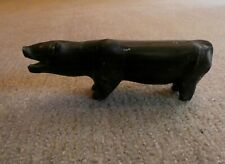 Antique Inuit Signed Carving of a Bear - Canadian
