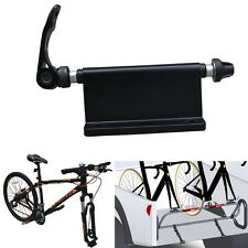 Universal Bike Block QR Aloy Fork Mount Pickup Truck Bed Rack Carrier Holder