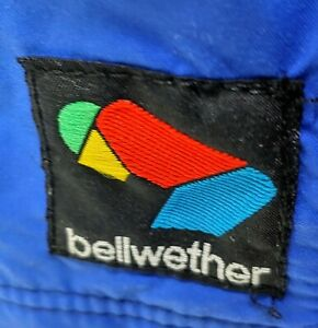 NOS Bellwether Cycling Pants Blue Black Size XL
