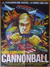 CANNONBALL David Carradine 1976 Affiche Originale 60x80 Vintage Movie Poster