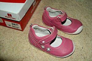 Elefanten Leder Schuhe  rosa Gr. 20