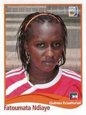 Panini FIFA World Cup 2011 Germany Women Sticker #328 Fatoumata Ndiaye