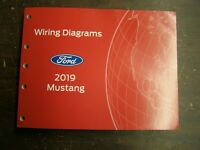 OEM Ford 2019 Mustang Shop Manual Wiring Diagram Book nos Shelby GT350 GT