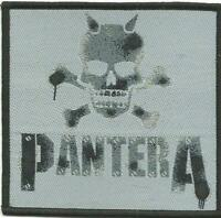 PANTERA skull stencil - WOVEN SEW ON PATCH official merch SEALED no longer made