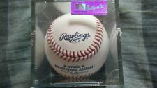 Rawlings Official Major League Baseball  Sealed in UV Protected Clear Case  NEW