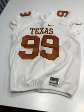 GAME WORN USED TEXAS LONGHORNS FOOTBALL JERSEY SIZE 46 #99