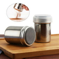 NEWEST Stainless Steel Chocolate Shaker Icing Sugar Powder Flour Coffee Sifter