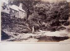 Marske Mill , near Saltburn    . Victorian Photograph mounted on album card