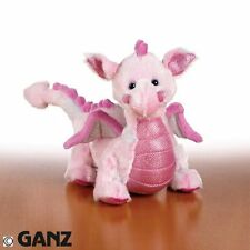 Webkinz Pink Whimsy Dragon Full Size Plush Animal Ganz 3+ NEW with code