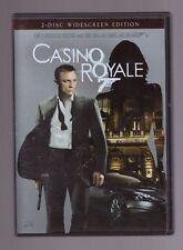 CASINO ROYALE DVD 2 DISC WIDESCREEN EDITION DANIEL CRAIG