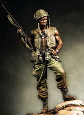 90 MM. US. Marine 1968 [ w 2 Heads ] Recast in Resin @Unpainted Resin Model Kit