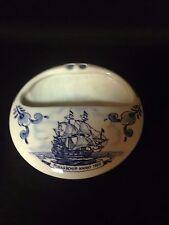 Delfts Nedlloyd lines ship Pinasschip Anna 1650.....semi covered ashtray