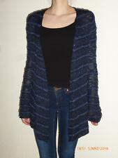 Pullover Strickjacke Damen Gr. XS dunkelblau