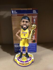 Anthony Davis Los Angeles Lakers 2020 NBA Champions Bobblehead FOCO 5K Only