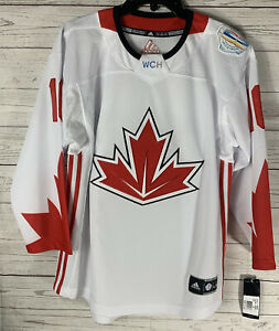 World Cup of Hockey WCH 2016 Adidas Youth Sz L/XL Jonathan Toews Canada Jersey