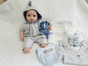 Baby Annabell Brother Doll (Alexandra?) 2016 Interactive