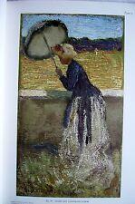 Giovanni SEGANTINI Auktion LEPKE Berlin 1910 Versteigerung von 38 Gemälden
