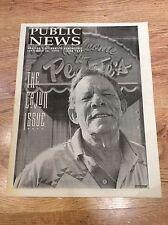 PUBLIC NEWS Magazine 1994 CAJUN MUSIC Houston PULP FICTION SEVEN YEAR BITCH