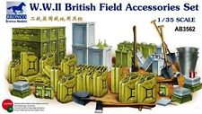 BRONCO AB3562 1/35 WWII British Field Accessories Set
