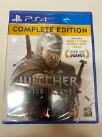 The Witcher III 3 Wild Hunt Complete Edition Playstation 4 PS4 Brand New Sealed