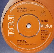 "BACCARA - Darling - Excellent Condition 7"" Single RCA Victor PB 5566"
