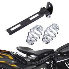 """3"""" Selle Solo Ressorts Support Matériel Montage Pr Harley Custom Chopper Bobber"""