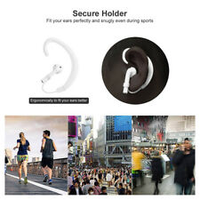1 Pair Strap Wireless Ear Hanging Hook Accessories Holders for Airpods White NEW