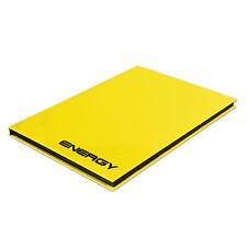 "Notizbuch ""Energy"" gelb; DIN A4; kariert; Kladde mit: 96 Blatt (Rheita; #Noti..."