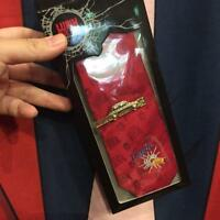 UNIVERSAL STUDIOS JAPAN Limited Edition Lupine The 3rd Necktie With Tie clip pin