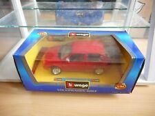 Bburago Burago VW Volkswagen Golf in Red on 1:24 in Box