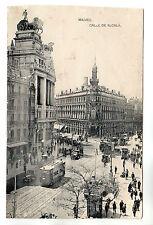 Calle De Alcala - Madrid Photo Postcard 1927