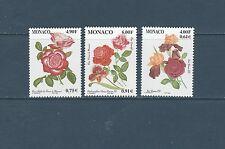- Monaco   fleurs roses  1999  num:  2194/95/2217 **