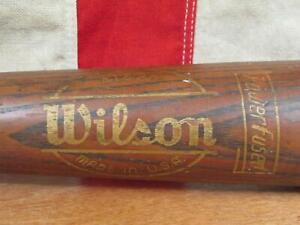"Vintage 1960s Wilson Wood Famous Player Baseball Bat HOF Ted Williams Model 36"""
