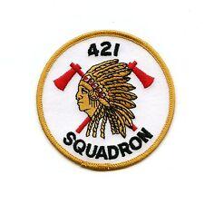 RCAF CAF Canadian 421 Squadron Colour Crest Patch 1