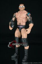 Mattel WWE Elite 6 Batista Complete w/Glasses Loose GREAT SHAPE FREE SHIPPING!!!
