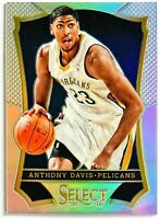 2013-14 Select Anthony Davis Silver Prizm Pelicans Lakers Kentucky Wildcats #71