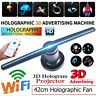 3D LED Holographic Projector Fan Hologram Advertising Projection PC WiFi Version