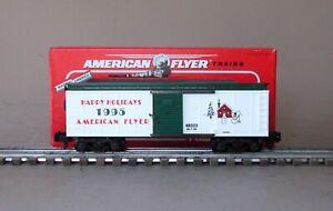 Lionel American Flyer 6-48323 1995 Christmas Box Car
